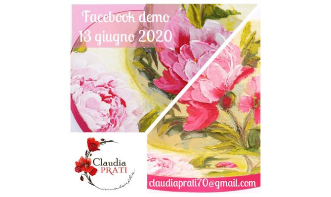 Peonie – Demo diretta Facebook